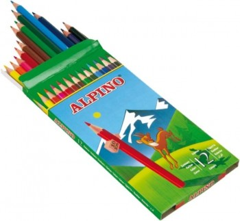 LAPICES COLOR ALPINO