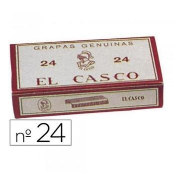 GRAPAS CASCO 24 GALVANIZADA 1000 GR