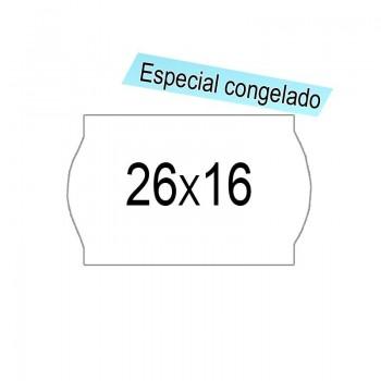 ETIQUETA 26X16 ADH. BCA CONGELACION