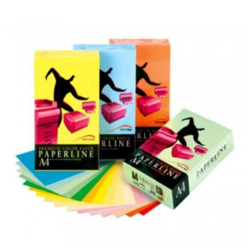 PAPEL A3 PAPERLINE 500H. ROSA 80 GR