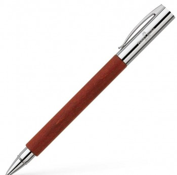 ROLLER FABER-CASTELL CUERPO MADERA PERAL