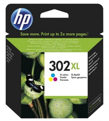 CARTUCHO HP 302XL COLOR 330PAG