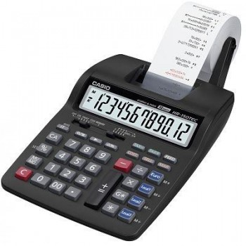 CALCULADORA IMPRESORA CASIO 12 DIGITOS HR-150TEC