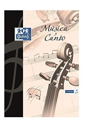 BLOCK MUSICA Y CANTO OXFORD A4 ESPIRAL
