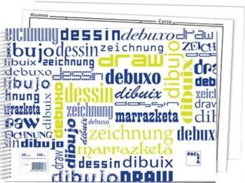 BLOCK DIBUJO F.P.248X346 C/R POL.PA