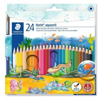 LAPICES ACUARELABLE STAEDTLER 24 UDS