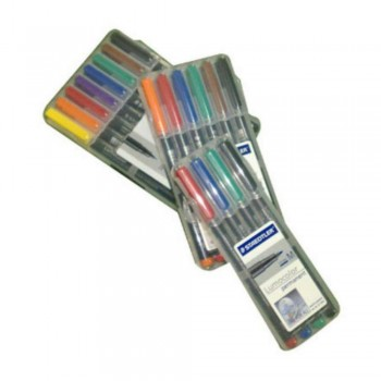 ROTULADOR STAEDTLER PERMANENTE PUNTA FINA PACK 4 COLORES