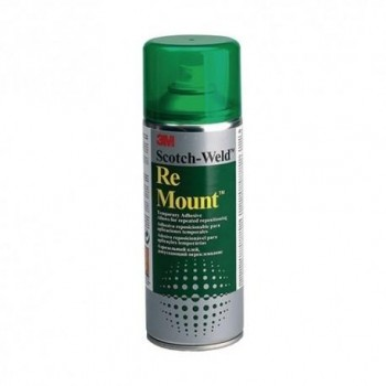PEGAMENTO SPRAY RE-MOUNT 400ML ADHESIVO REPOSICIONABLE (VERDE)