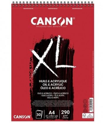 BLOCK OLEO Y ACRILICO XL CANSON 290gr
