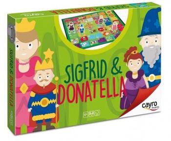 JUEGO DE LA OCA SIGFRID & DONATELLA