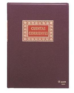 LIBRO CUENTAS CORRIENTES T. FOLIO NAT. 80H DOHE