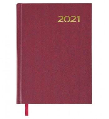 AGENDA DOHE SINTEX 14X20 DIA PÁGINA  2021 AZUL, NEGRO O BURDEOS