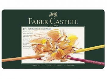 LAPICES FABER-CASTELL POLYCHROMOS 120 COLORES