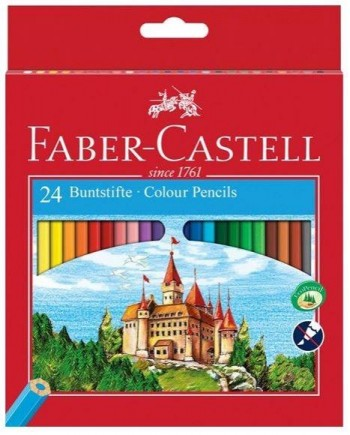 LAPICES FABER-CASTELL DE COLORES ECOLAPICES