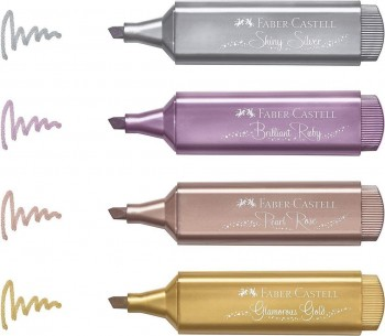 ROTULADOR  FABER-CASTELL TEXTLINER 46 METALICO