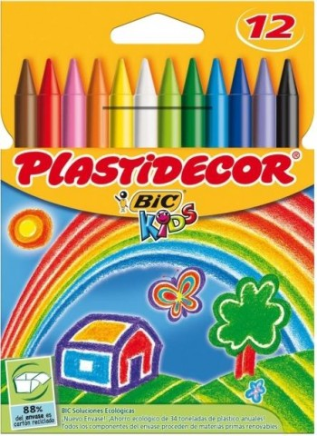 CERAS DE COLORES PLASTIDECOR