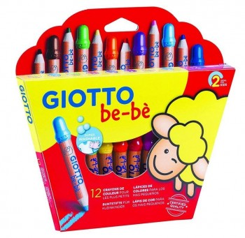 LAPICES GIOTTO BEBE SUPER 12UD