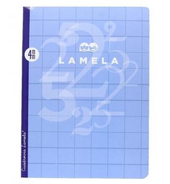 LIBRETA LAMELA 50H A4 4X4 CUADROVIA