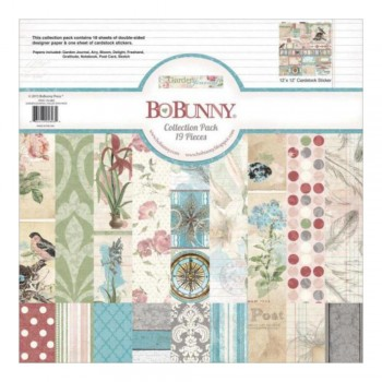 BLOCK LAMINAS GARDEN JOURNL 30X30