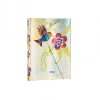 AGENDA PAPER BLANKS HUMMINGBIRD MIDI (13 X 18 CMS) DP