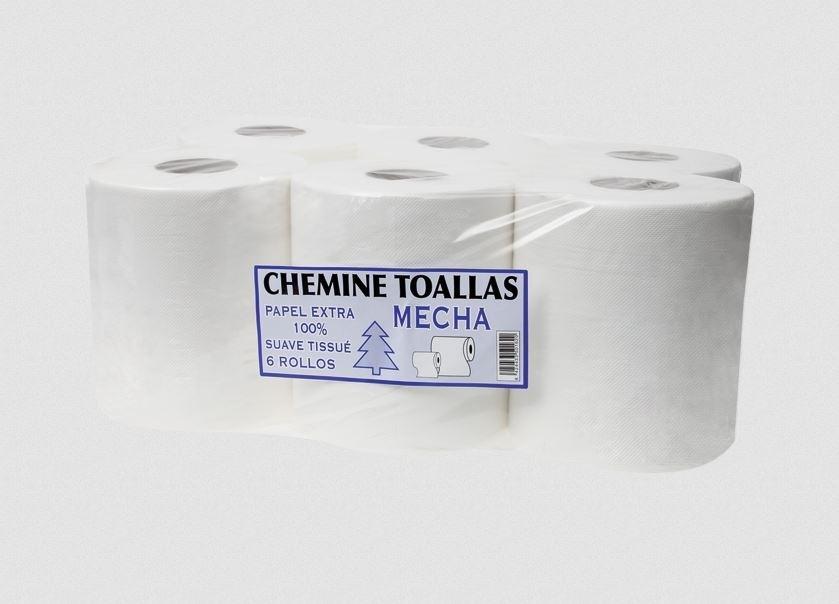 ROLLO PAPEL CHEMINE 800GR RECICLADO