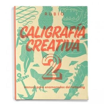 LIBRO LETTERING RUBIO CALIGRAFIA CREATIVA 2