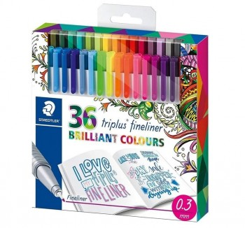 ROTULADORES STAEDTLER 36 COLORES FINELINER