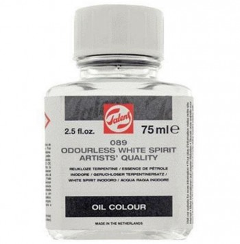 DISOLVENTE WHITE SPIRIT INODORO FRASCO 75ml
