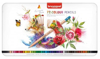 ESTUCHE LAPICES DE COLOR 72 UDS EXPRESSION BRUYNZEEL